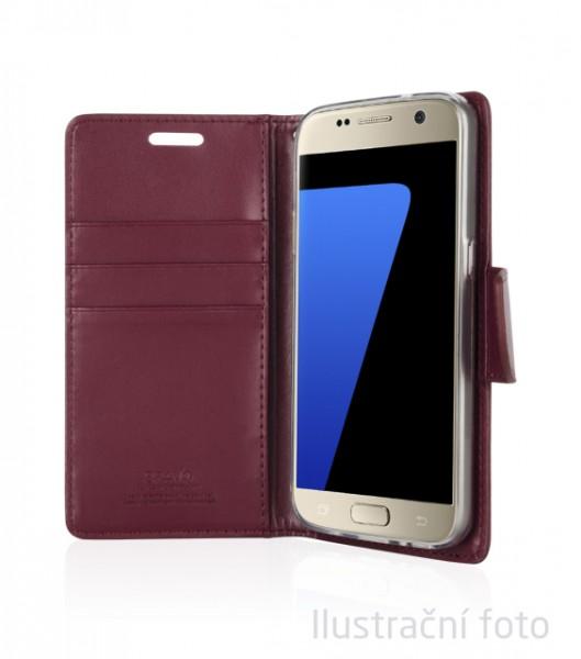 Pouzdro Mercury Goospery BRAVO Diary iPhone 6/6S Plus vínové