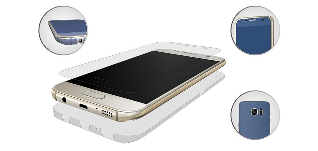 3mk FlexibleGlass 3D Matte-Coat pro Samsung G930F Galaxy S7
