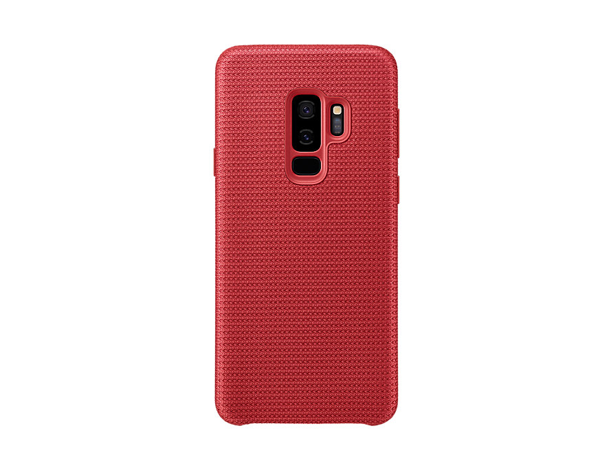 Pouzdro Samsung EF-GG965FR Hyperknit pro Samsung Galaxy S9 Plus červené