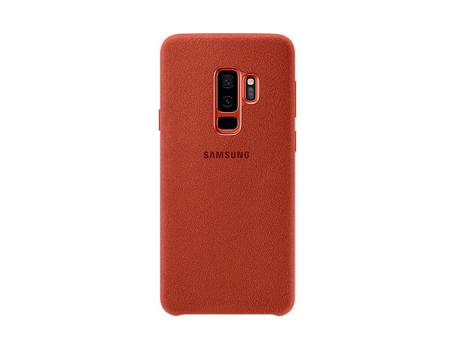Pouzdro Samsung EF-XG965AR pro Samsung Galaxy S9 Plus červené