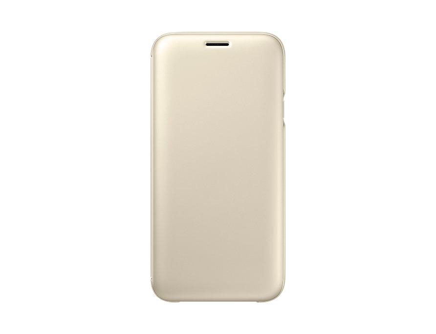 Pouzdro Samsung EF-WJ730CF pro Samsung Galaxy J7 2017 zlaté