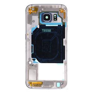Samsung G925F Galaxy S6 Edge střední díl OEM modrý