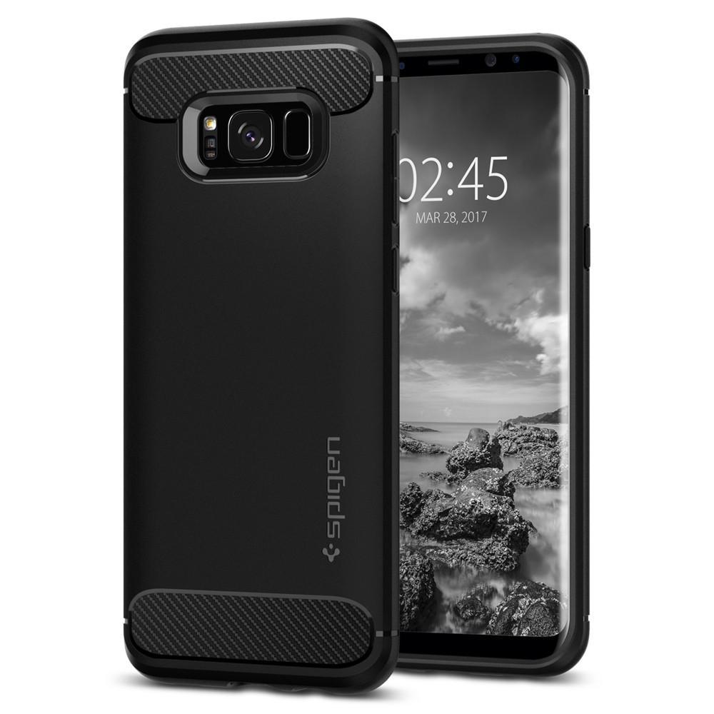 Pouzdro Spigen (571CS21661) Rugged Armor pro Samsung Galaxy S8 Plus Black