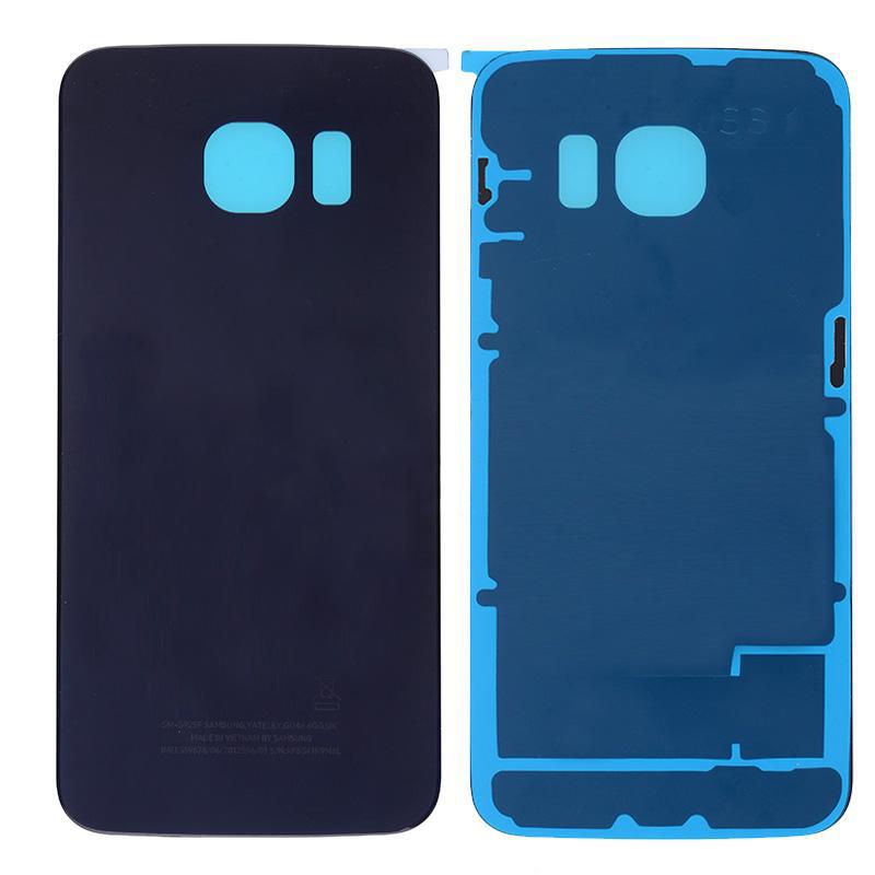 Originální zadní kryt pro Samsung G925F Galaxy S6 Edge černý