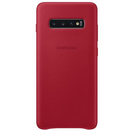 Pouzdro Samsung EF-VG975LR pro Samsung G975 Galaxy S10 Plus Red