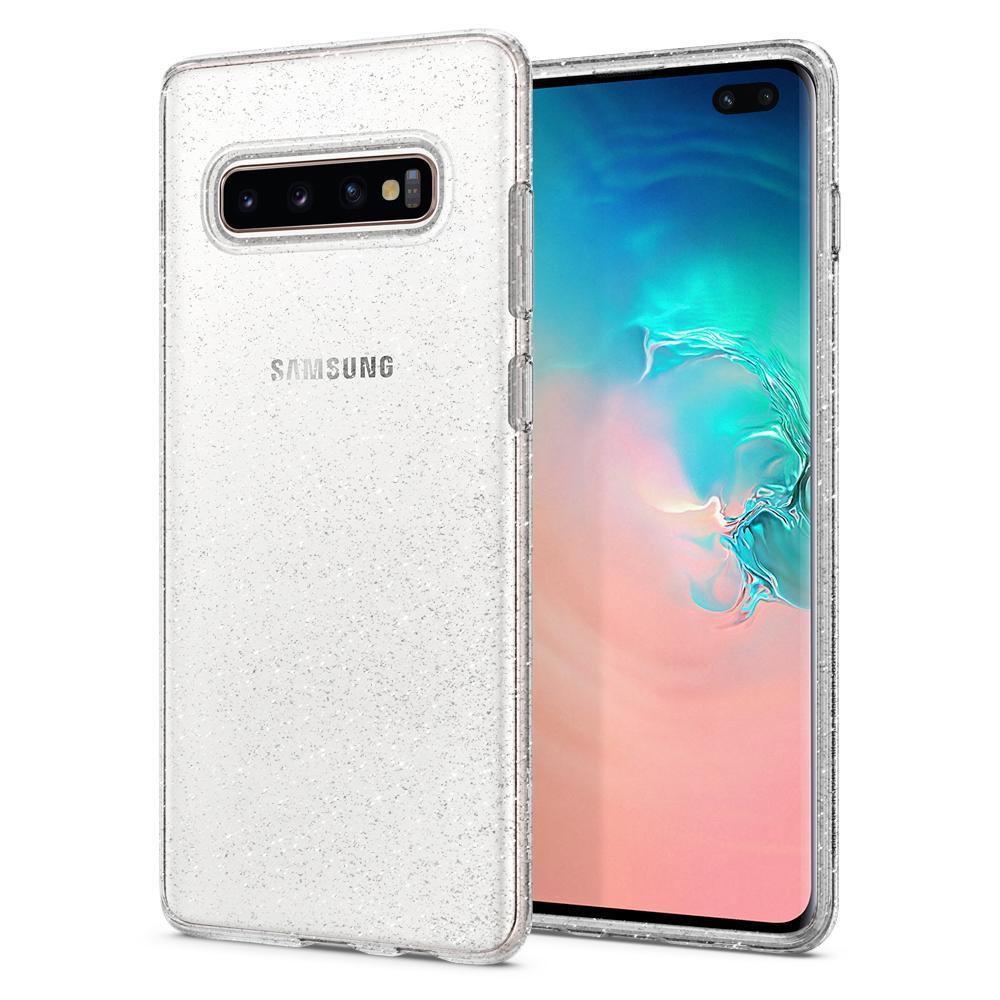 Pouzdro Spigen (606CS25762) Liquid Crystal pro Samsung G975F Galaxy S10 Plus Glitter Crystal Clear