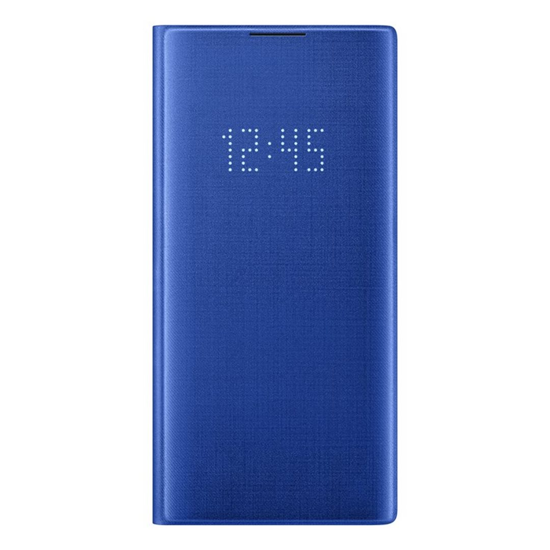 Pouzdro Samsung EF-NN975PLE LED View pro Samsung Galaxy Note 10 Plus modré