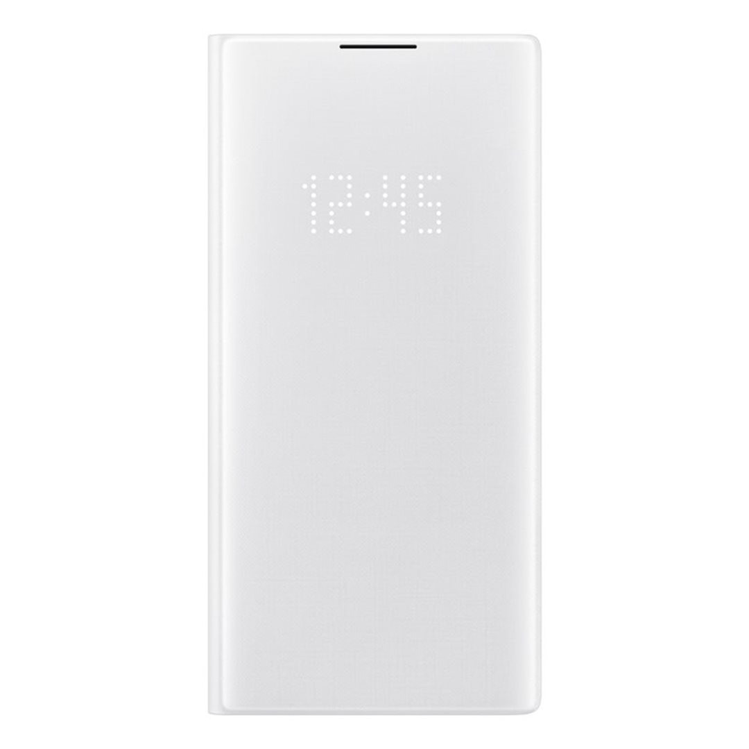 Pouzdro Samsung EF-NN975PWE LED View pro Samsung Galaxy Note 10 Plus bílé