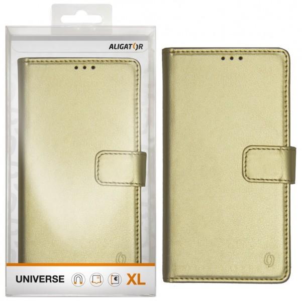 Pouzdro Aligator Universe XL zlaté