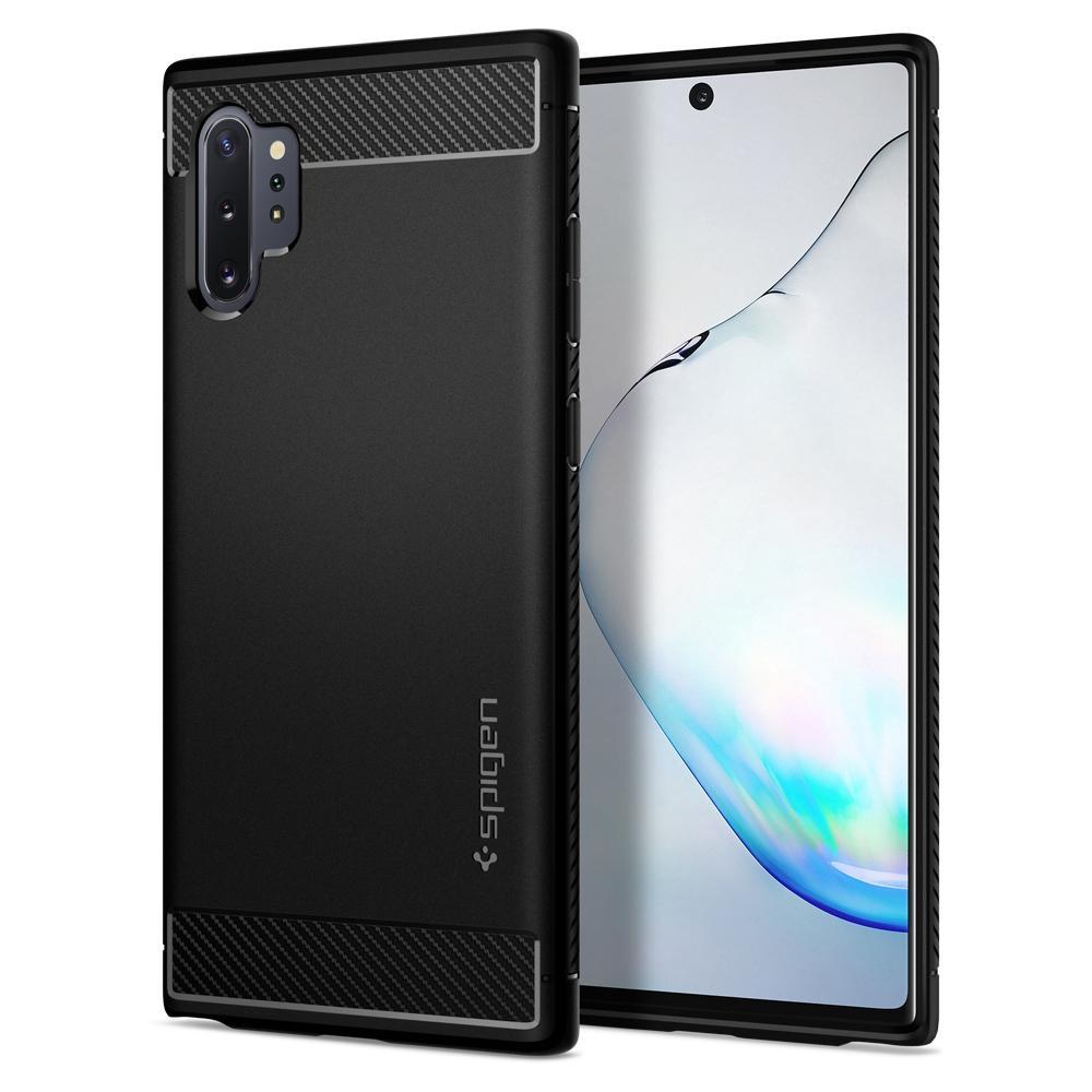 Pouzdro Spigen (627CS27331) Rugged Armor pro Samsung Galaxy Note 10 Plus Black