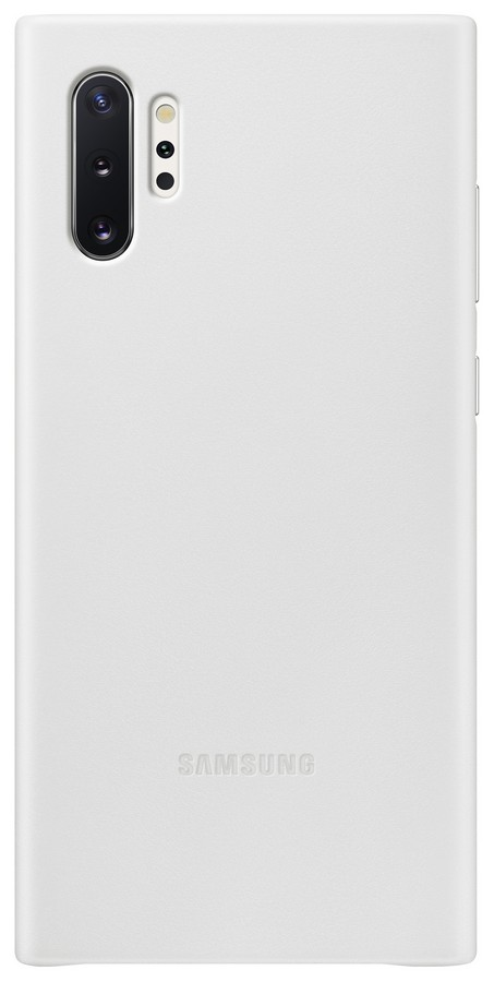 Pouzdro Samsung (EF-VN975LW) Leather Cover pro Samsung N975F Galaxy Note 10 Plus White