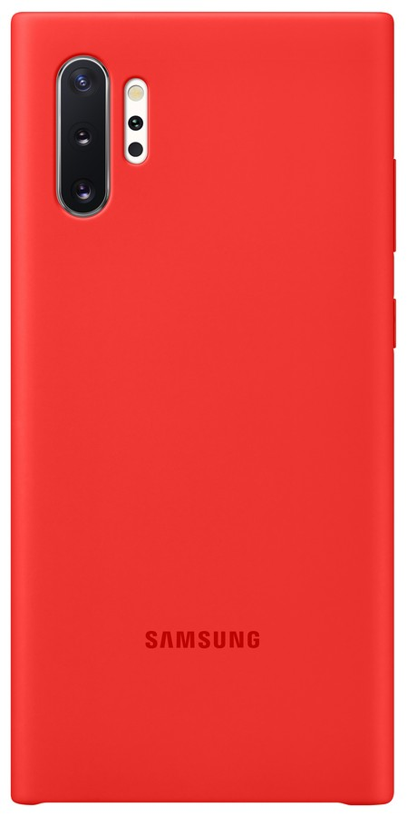 Pouzdro Samsung (EF-PN975TR) Silicone pro Samsung N975 Galaxy Note 10 Plus Red