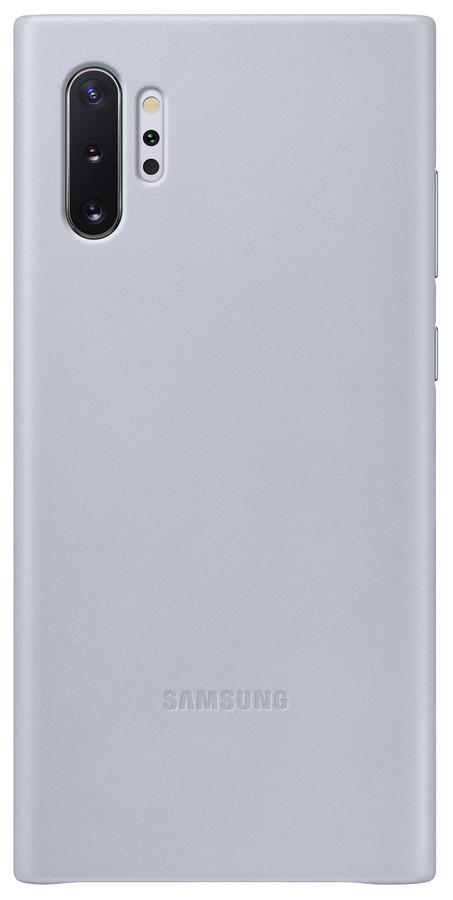 Pouzdro Samsung (EF-VN975LJ) Leather Cover pro Samsung N975F Galaxy Note 10 Plus Grey