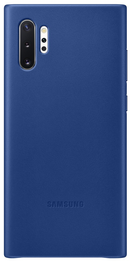 Pouzdro Samsung (EF-VN975LL) Leather Cover pro Samsung N975F Galaxy Note 10 Plus Blue