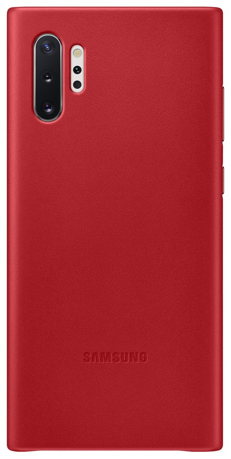 Pouzdro Samsung (EF-VN975LR) Leather Cover pro Samsung N975F Galaxy Note 10 Plus Red