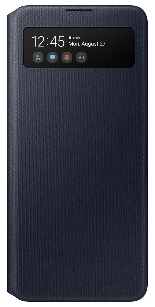 Pouzdro Samsung EF-EA515PB S-View Wallet Samsung A515F Galaxy A51 černé