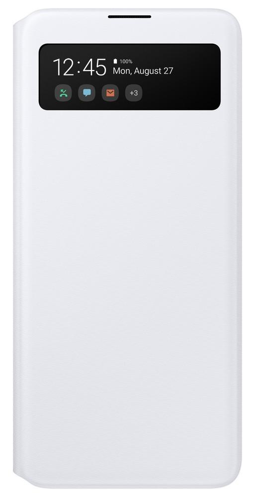 Pouzdro Samsung EF-EA515PW S-View Wallet Samsung A515F Galaxy A51 bílé