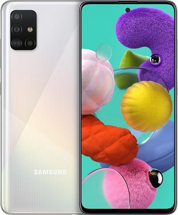 Samsung A515F Galaxy A51 Dual SIM White - speciální nabídka
