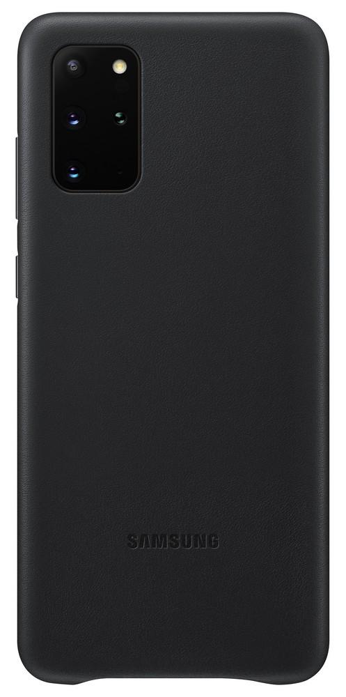 Pouzdro Samsung (EF-VG985LB) Leather Cover pro Samsung G985 Galaxy S20 Plus černé