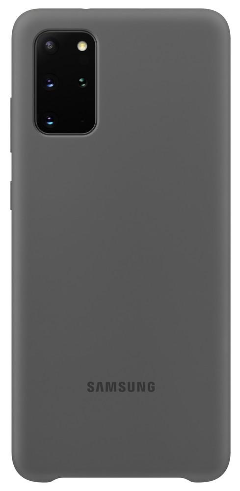 Pouzdro Samsung (EF-PG985TJ) Silicone Cover pro Samsung G985 Galaxy S20 Plus šedé
