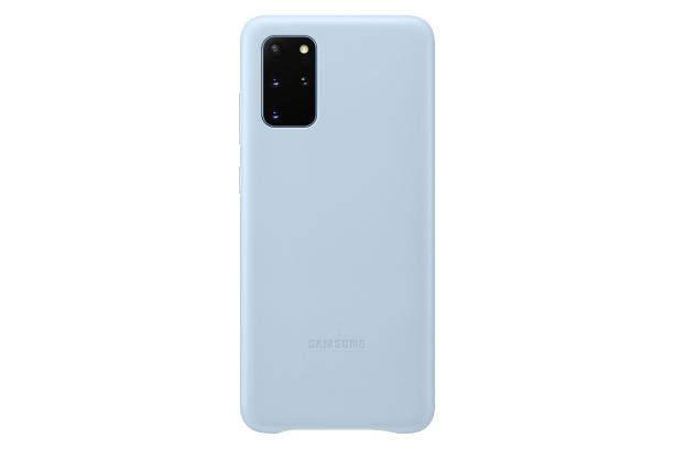 Pouzdro Samsung (EF-VG985LL) Leather Cover pro Samsung G985 Galaxy S20 Plus modré
