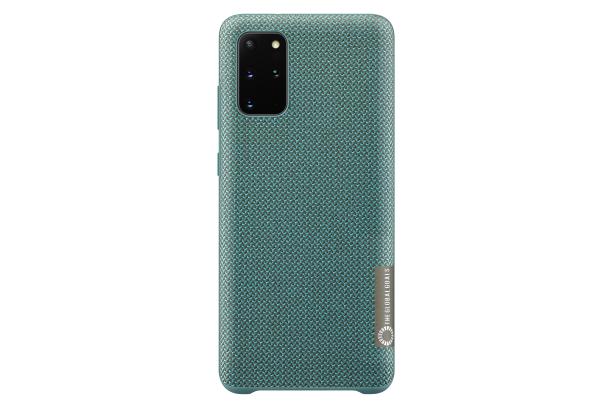 Pouzdro Samsung (EF-XG985FG) Kvadrat Cover pro Samsung G985 Galaxy S20 Plus zelené