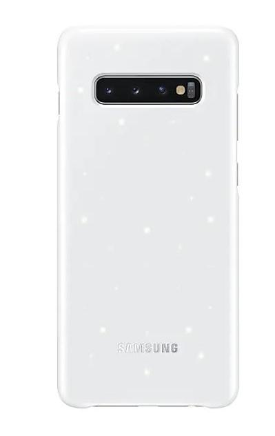 Pouzdro Samsung EF-KG975CW pro Samsung G975 Galaxy S10 Plus bílé
