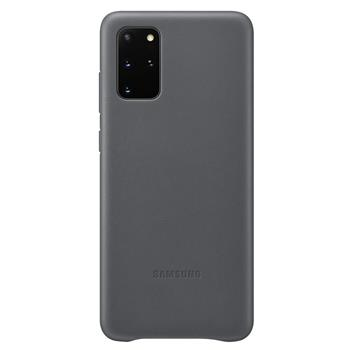 Pouzdro Samsung (EF-VG985LJ) Leather Cover pro Samsung G985 Galaxy S20 Plus šedé