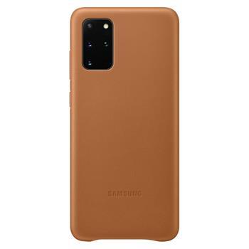 Pouzdro Samsung (EF-VG985LA) Leather Cover pro Samsung G985 Galaxy S20 Plus hnědé