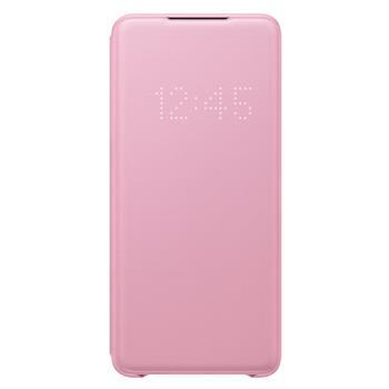Pouzdro Samsung (EF-NG985PP) LED View Cover pro Samsung G985 Galaxy S20 Plus růžové