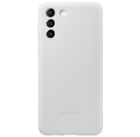 Pouzdro Samsung (EF-PG996TJ) Silicone Cover pro Samsung Galaxy S21+ šedé