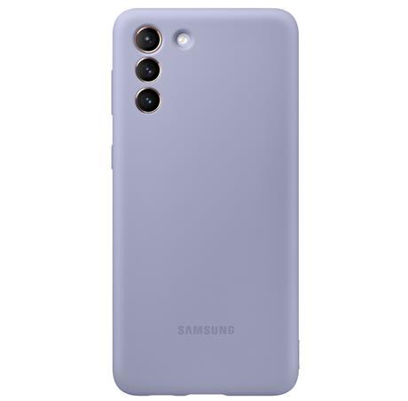 Pouzdro Samsung (EF-PG996TV) Silicone Cover pro Samsung Galaxy S21+ fialové