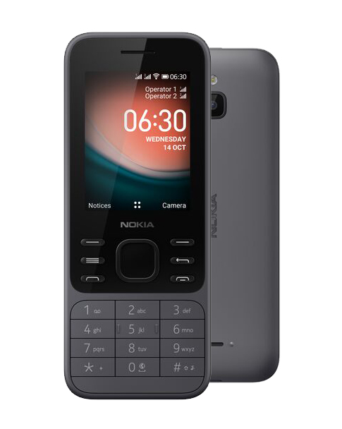 Nokia 6300 4G Dual SIM Charcoal