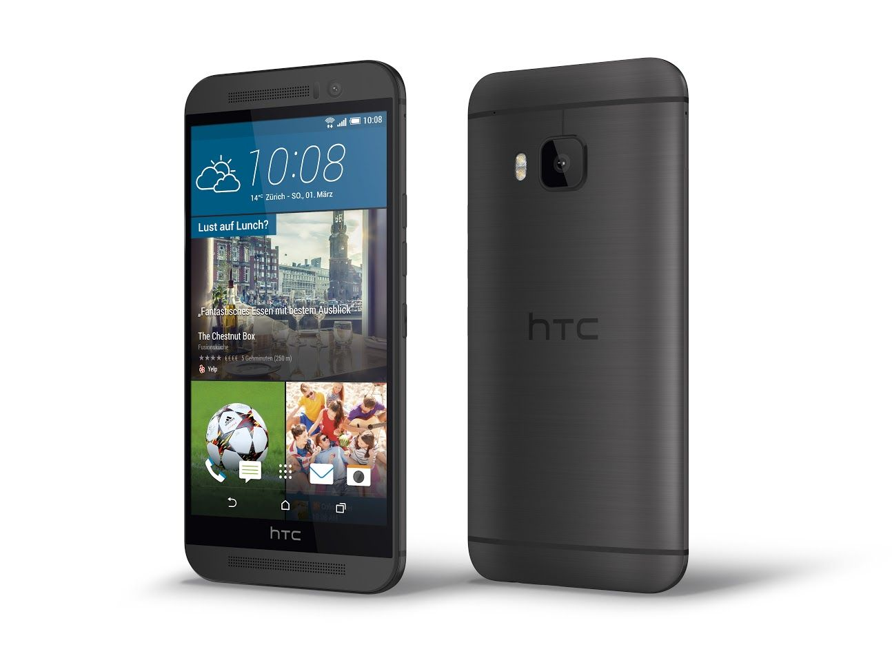 HTC One M9 Gunmetal Grey