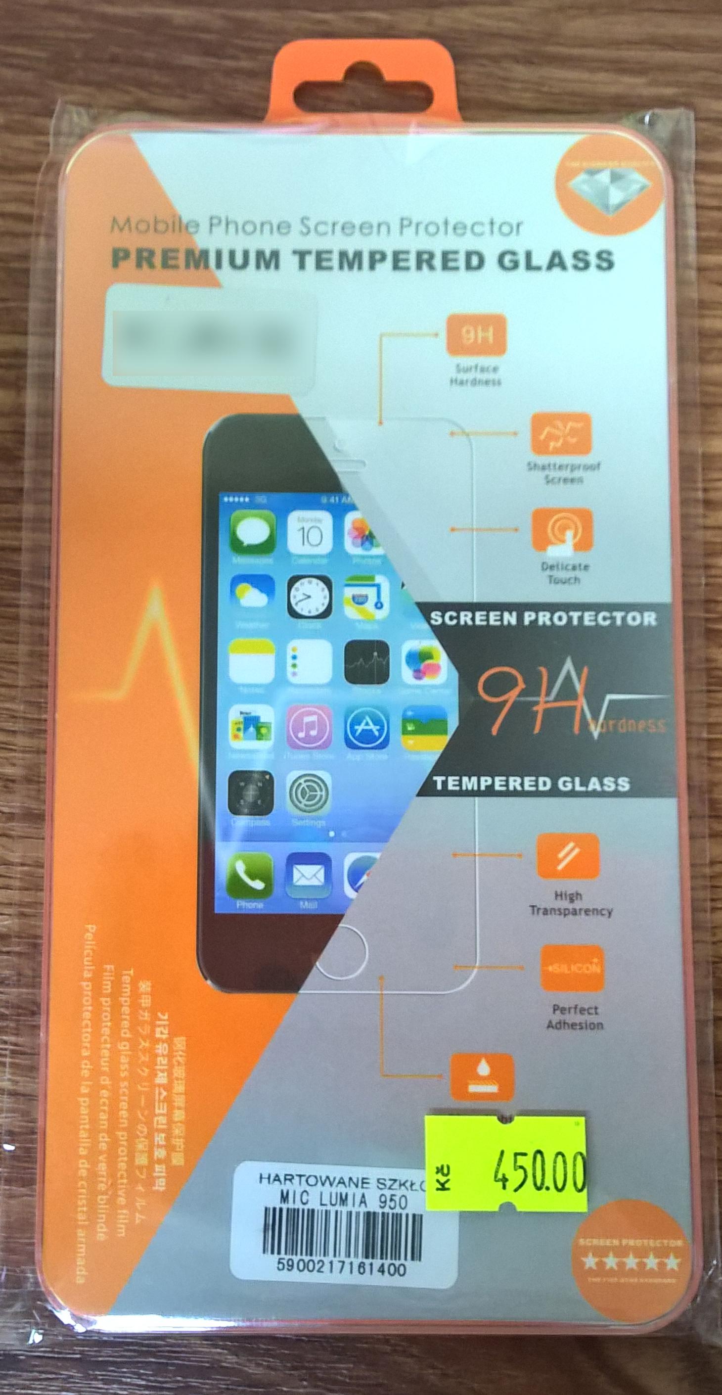 Mobile Phone Screen Protector Tvrzené Sklo H pro Microsoft Lumia 550