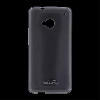 Pouzdro Kisswill TPU HTC One 2 M8 bílé