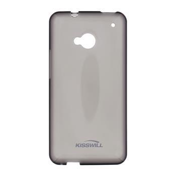 Pouzdro Kisswill TPU Samsung G925 Galaxy S6 Edge černé
