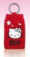 Hello Kitty Ponožka Red