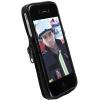 Krusell CLASSIC pro Apple iPhone 4 - černo-šedé