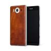 Pouzdro MOZO Back Cover Microsoft Lumia 950 Cognac