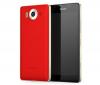 Pouzdro MOZO Back Cover Microsoft Lumia 950 Red Gold
