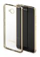 MOZO TPU Glam Case Gold Rim Microsoft Lumia 650