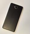 Pouzdro Mozo Back Cover Wood Microsoft Lumia 650 černé