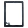 Apple iPad 2 dotykové sklo černé Originální Osazené