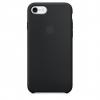 Pouzdro Apple iPhone 7/8 Silicone Case Black