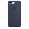 Pouzdro Apple iPhone 7/8 Plus Silicone Case Midnight Blue