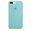 Pouzdro Apple iPhone 7/8 Plus Silicone Case Ocean Blue