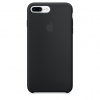 Pouzdro Apple iPhone 7 Plus Silicone Case Black
