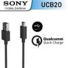 Sony USB-C kabel UCB-20 černý