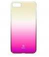 Pouzdro Baseus Glaze Case iPhone 7 Plus růžové